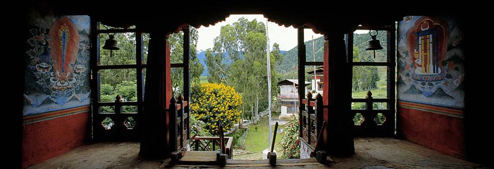 Dzong de Punakka, Bhoutan. Photographies d'Olivier Föllmi / © Editions Föllmi